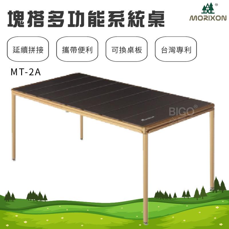 【露營必備】塊搭 多功能系統桌 鋁桌板 8片桌 MT-2A 組合桌 拼接桌 竹木桌 鋁合金桌板 登山 戶外桌 專利設計