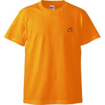 ヤンキーうしねこくん Tシャツ(カラー : ゴールド, サイズ : S)