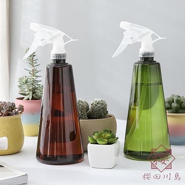 2瓶 小噴壺澆花室內家用消毒清潔噴霧瓶按壓式園藝噴水壺【櫻田川島】
