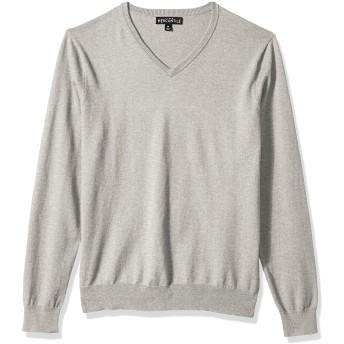 J.Crew Mercantile メンズ 長袖 コットン Vネック セーター US サイズ: Small カラー: グレイ