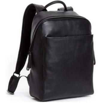 男包 ティーンエイジャーの大容量カジュアルバックパックファッションのトレンドトラベルバッグ用メンズバックパックスクールバッグ (Color : Black, Size : S)