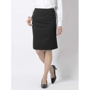 ウール100% セットアップセミタイトスカート【プレシャスライン Silver】