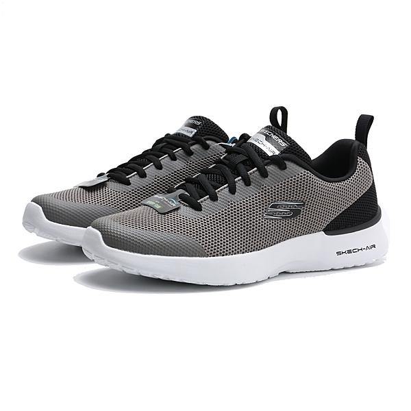 SKECHERS SKECH-AIR DYNAMIGHT 灰黑 網布 運動 慢跑鞋 男(布魯克林) 232007CCBK