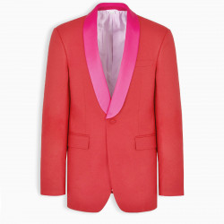 Gucci Red tuxedo jacket
