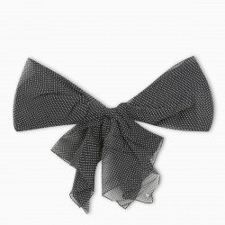 Saint Laurent Brooch with polka dot bow