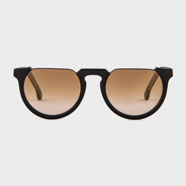 Paul Smith Black Ink On Crystal 'Brixham' Sunglasses