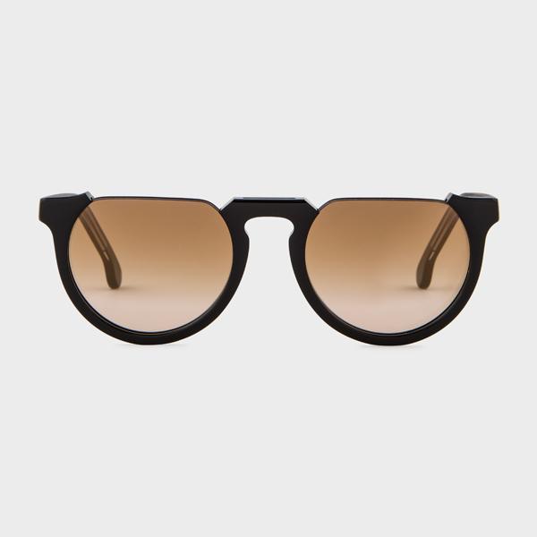 Paul Smith Black Ink On Crystal 'Brixham' Sunglasses