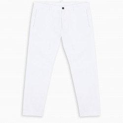 Dsquared2 White cropped chino trousers