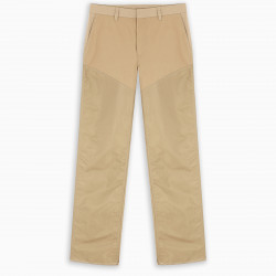 Burberry Beige baggy trousers