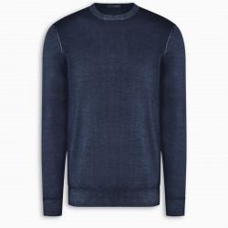 Drumohr Blue wool sweater