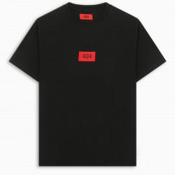 424 Black S/S logoed t-shirt