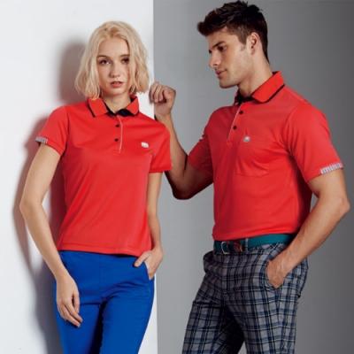 Abel Fox s Sports長效涼感纖維男版短袖polo衫-F6211A-01