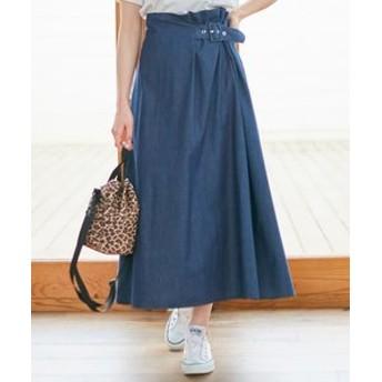 新規会員登録で3,000円OFF!【any SiS:スカート】【L'aube】ハイウエスト スカート