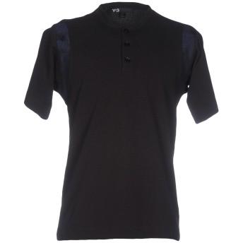 《セール開催中》Y-3 メンズ T シャツ ブラック L コットン 100%