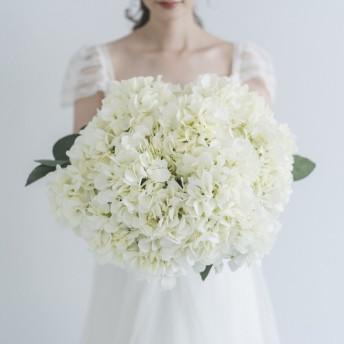 紫陽花のビックブーケ natural taste wedding