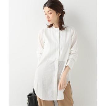 FRAMeWORK 【SEEALL / シーオール】ピンタックタキシードシャツ ホワイト 40