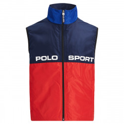 Polo Ralph Lauren Silver collection red and blue vest