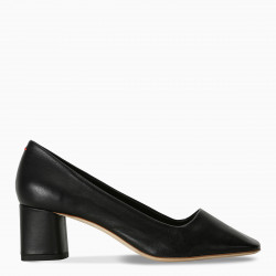 aeyde Black Meghan pumps