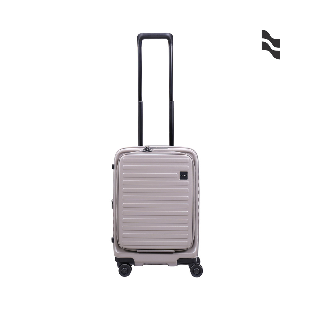 LOJEL C-F1627 CUBO 前開擴充箱 行李箱 21吋 灰色