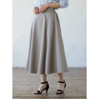 【6,000円(税込)以上のお買物で全国送料無料。】スキスカロングスカート