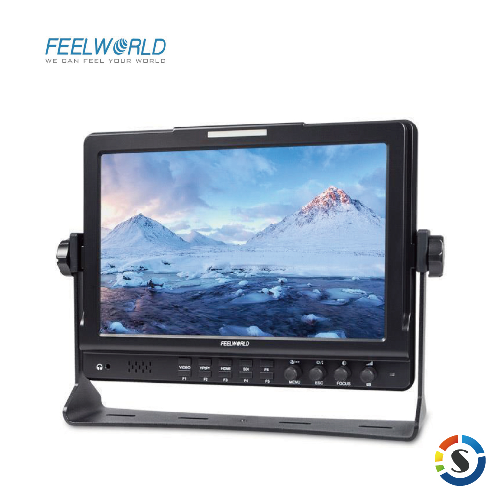 FEELWORLD 富威德 FW1018V1 專業攝影監視螢幕(10.1吋)