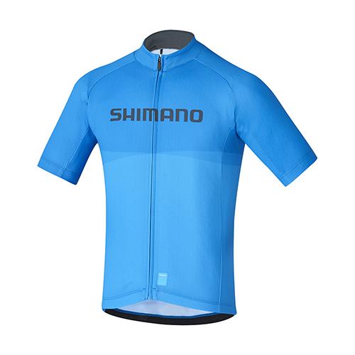 【SHIMANO】JUNIOR TEAM 青少年短袖車衣 藍