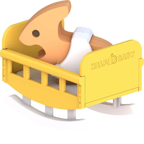 halftoys3d恐龍樂園副櫛龍寶寶para baby steam教育玩具