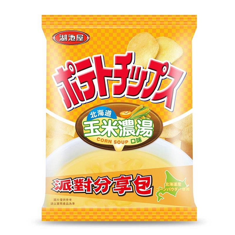 湖池屋平切洋芋片(北海道玉米濃湯口味)150g