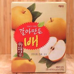 HAITAI果肉果汁(水梨/葡萄)任選4盒-共48瓶/組