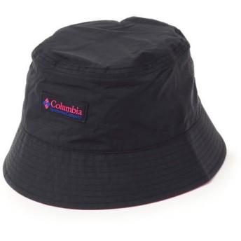 SHIPS for women/シップスウィメン Columbia:リバーシブルバケットハット ブラック ONE SIZE