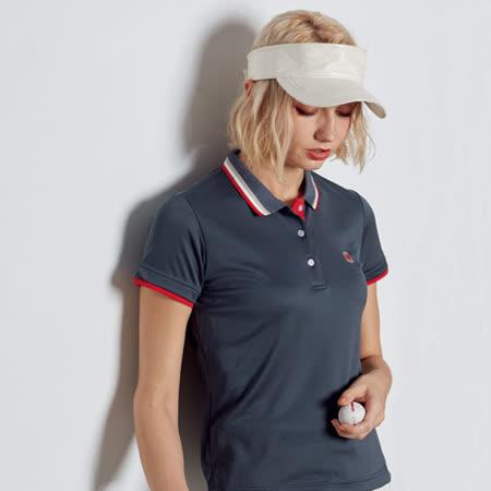 Abel Fox's Sports灰色女版短袖polo衫-AFQ209-16
