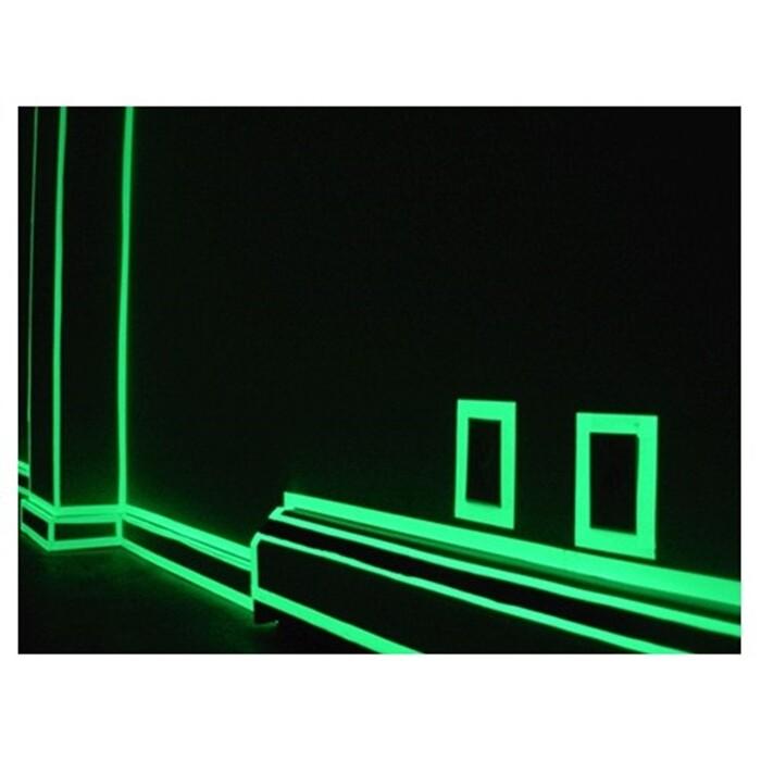 120cm 蓄光膜 樓梯 夜光 發光條 螢光貼紙 發光膠帶 車身安全警示 裝飾 夜光牆貼 車貼