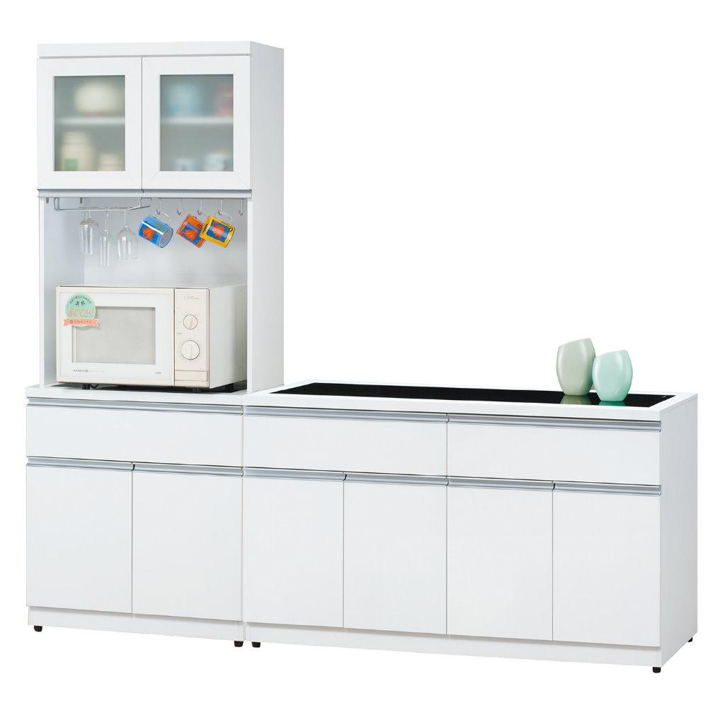 【MUNA】歐恩白色2.5尺餐櫃(全組)