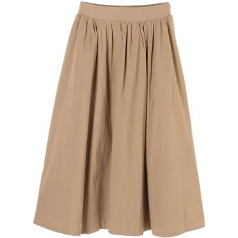 【6,000円(税込)以上のお買物で全国送料無料。】・RAY CASSIN ギャザーロングスカート