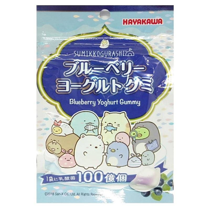 【限量】早川藍莓優格味軟糖-40g