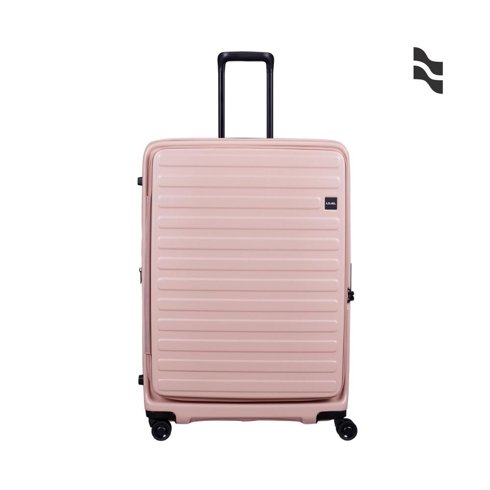 LOJEL C-F1627 CUBO 前開擴充箱 行李箱 30吋 粉色
