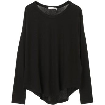 rag & bone ラグアンドボーン HUDSON L/S Tシャツ・カットソー,BLK