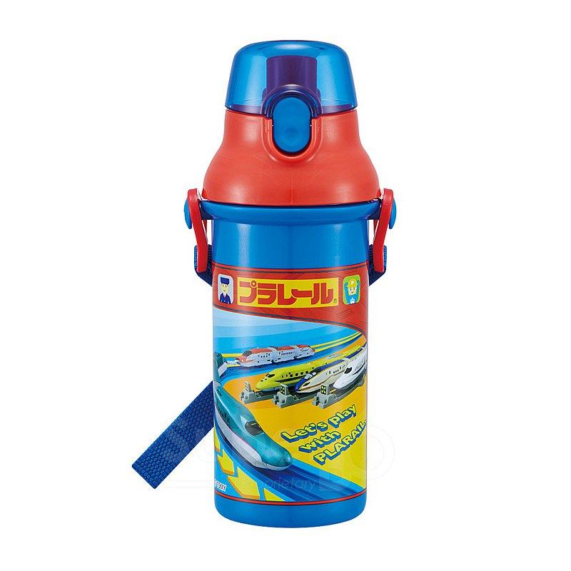 SKATER - 日本製直飲冷水壺480mL - 鐵道王國-藍紅