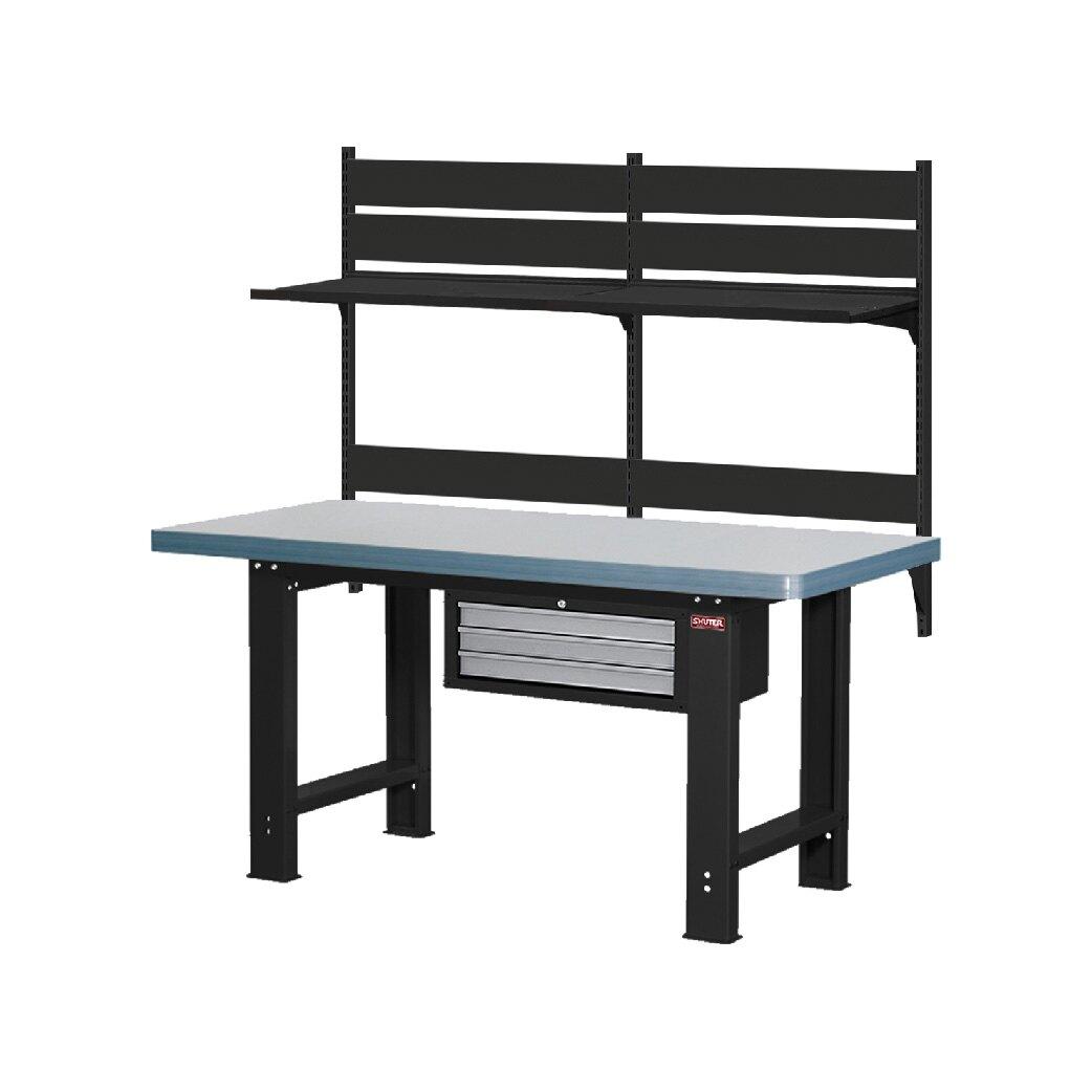 !需自行組裝!【樹德】 WB高荷重型工作桌 WHC6M + W4040 鐵桌 工作台 工廠 重型工業 工具桌 辦公桌 工作站
