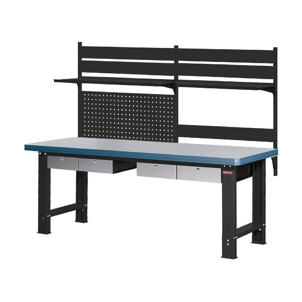 !需自行組裝!【樹德】 WB高荷重型工作桌 WHD7M + W1011 鐵桌 工作台 工廠 重型工業 工具桌 辦公桌 工作站