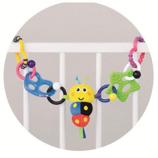 【Toyroyal樂雅】小蜜蜂嬰兒床吊飾