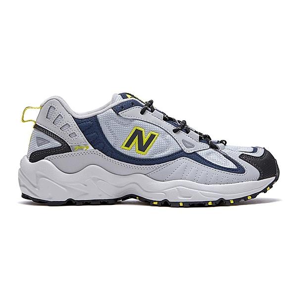 New Balance 703男款灰色拼接復古慢跑鞋-NO.ML703BB