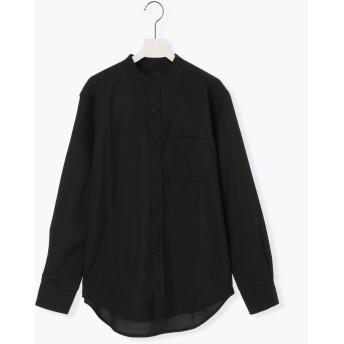 【6,000円(税込)以上のお買物で全国送料無料。】エステルトロバンドカラーシャツ