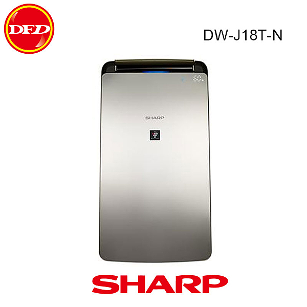 SHARP 夏普 18L 空氣清淨 除濕機 DW-J18T-N 除濕能力18L