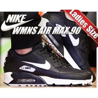 【ナイキ ウィメンズ エアマックス 90】NIKE WMNS AIR MAX 90 black/summit white-black-black レディース