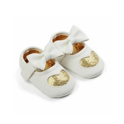 Baby童衣 可愛寶寶愛心亮片公主鞋 學步鞋 88304