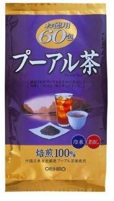 日本【ORIHIRO】普洱茶超值組 60包