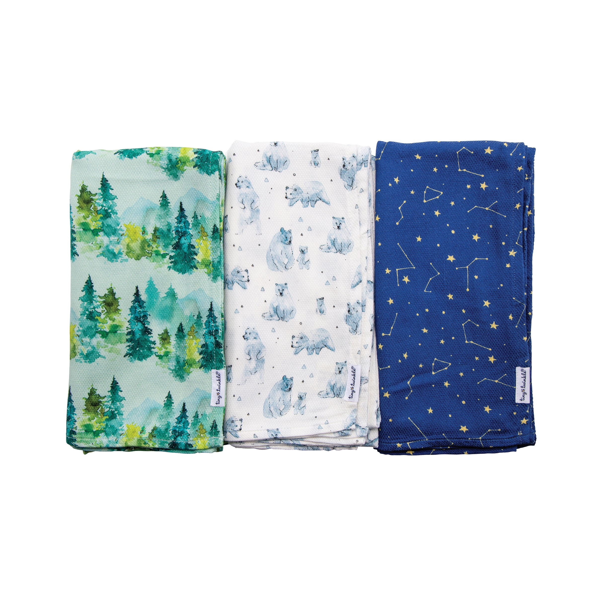 美國 tiny twinkle - Kaffle 紗布巾-三入組-生態