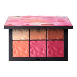 NARS 水光漣漪6色頰彩盤(3g*6色) 珍珠裸金.裸膚.豆沙.蜜桃.粉西瓜.紫玫瑰 一盤抵多盤 (限量)