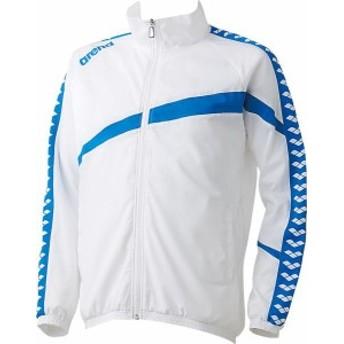 アリーナ 水泳 ウィンドジャケット 16SS ホワイト ウィンドブレーカー(arn6300-wht)